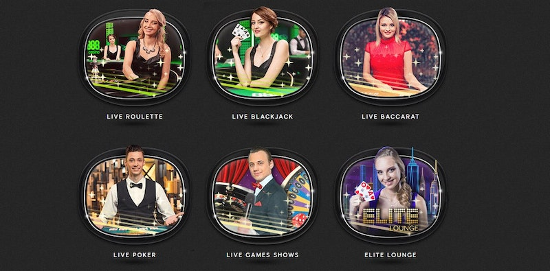 Play Live Casino at 888casino