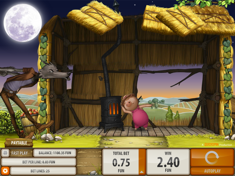 Try Big Bad Wolf from NetEnt