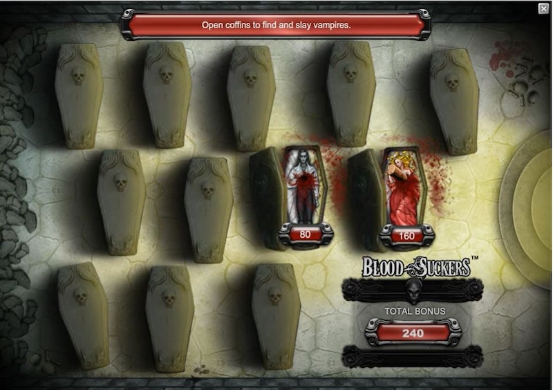 Play Blood Suckers from NetEnt