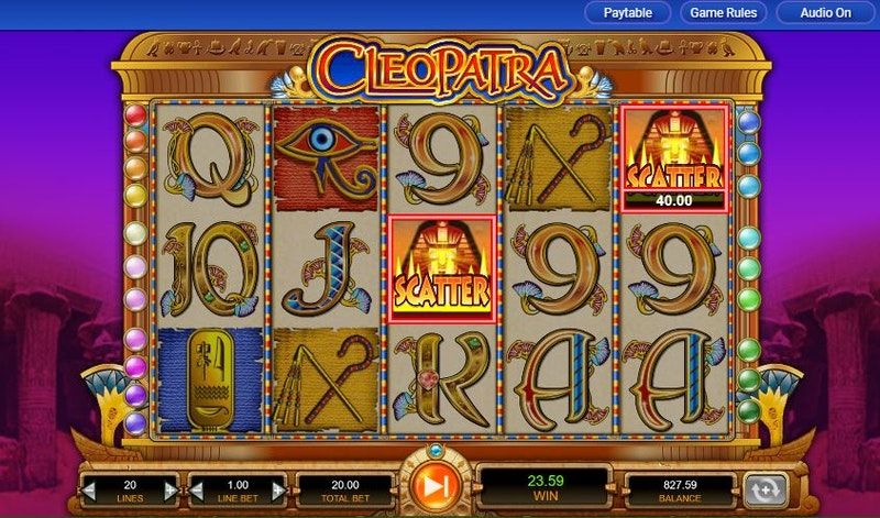 Play Cleopatra from IGT