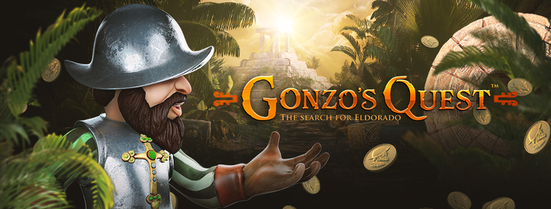 Play Gonzo's Quest from NetEnt