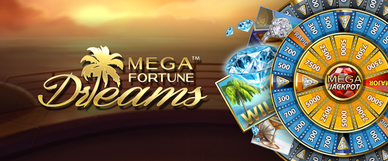 Play Mega Fortune Dreams from NetEnt