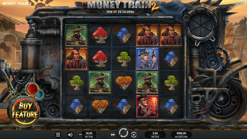 Play Money Train 2 by Relax Gaming