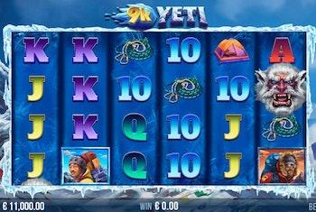9k Yeti Slot from Yggdrasil