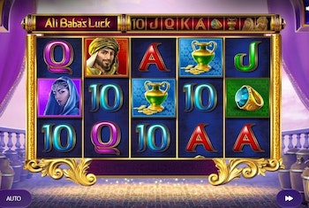 Ali Baba's Luck from Red Tiger Gaming