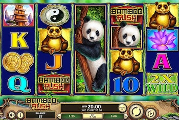 Bamboo Rush from Betsoft Gaming