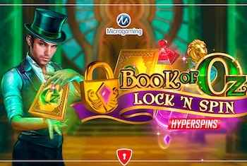 Book of Oz Lock 'N Spin from Microgaming