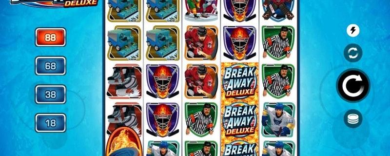 Break Away Deluxe Slot from Microgaming