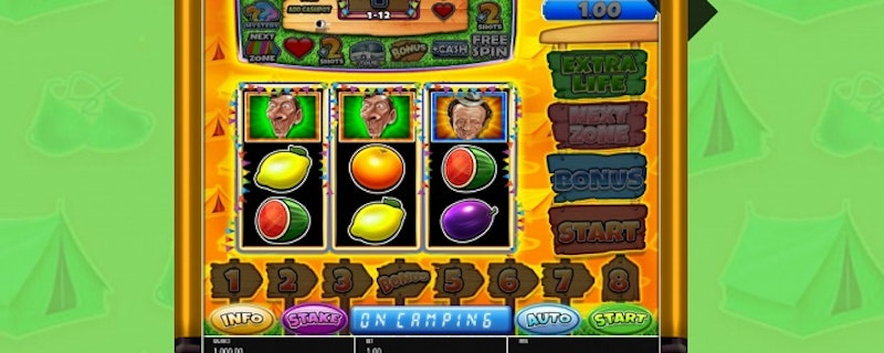 Carry On Camping Pub Fruit Slot