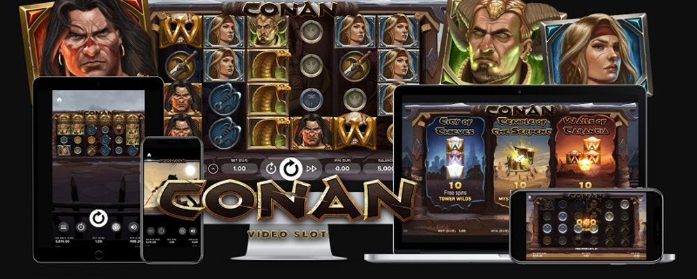 Conan The Barbarian Slot from NetEnt
