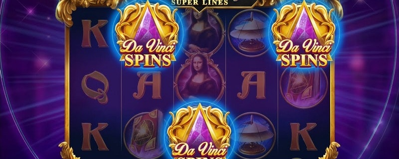 Da Vinci's Mystery Super Lines from Red Tiger
