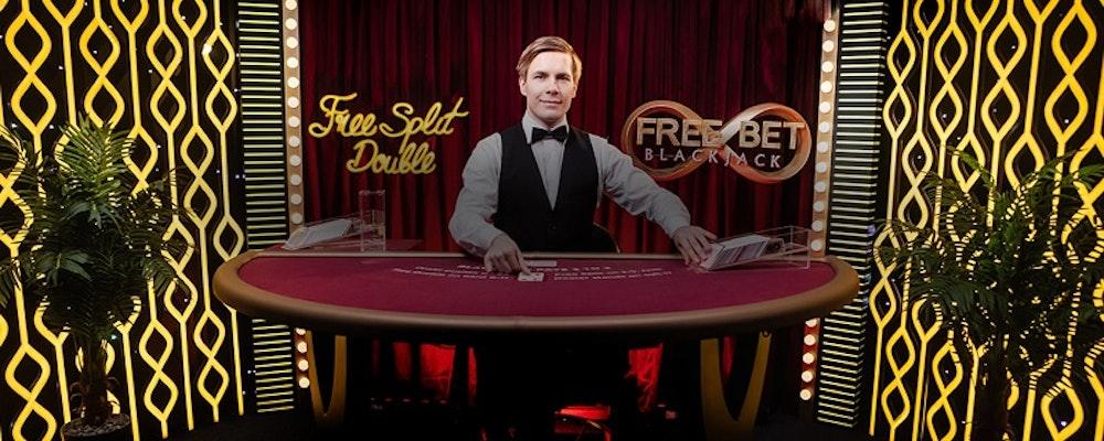 Free Bet Blackjack & 2 Hand Casino Hold'em