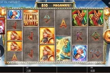 Gods of Olympus Megaways from Blueprint Gaming