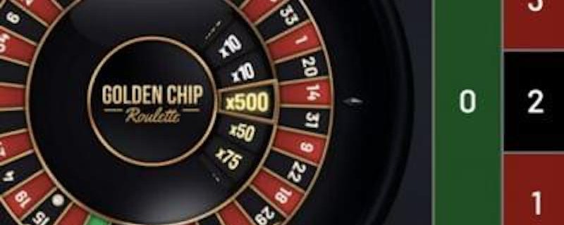 Golden Chip Roulette from Yggdrasil
