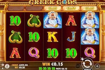 Greek Gods from Pragmatic Play