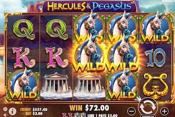 Hercules and Pegasus from Pragmatic Play