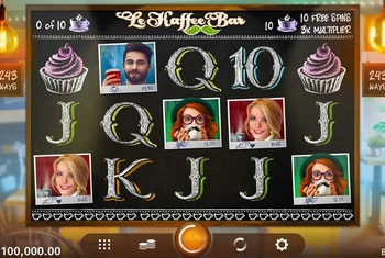 Le Kaffe Bar from Microgaming