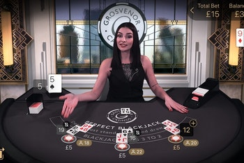 Live Perfect Blackjack from NetEnt