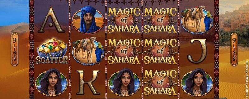 Magic of Sahara Slot from Microgaming