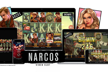 Narcos Slot from NetEnt