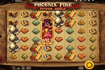 Phoenix Fire Power Reels from Red Tiger Gaming