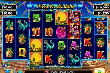 Piñata Bucks Slot from Lightning Box
