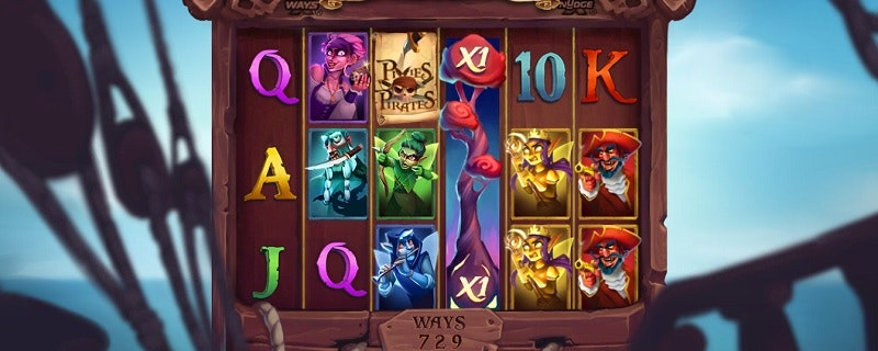Pixies vs Pirates Slot from Nolimit city