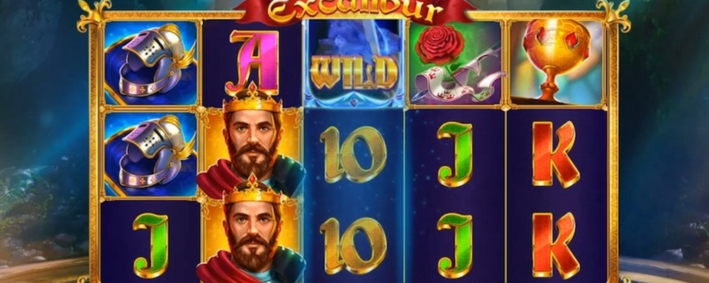 Legendary Excalibur slot from Red Tiger Gaming