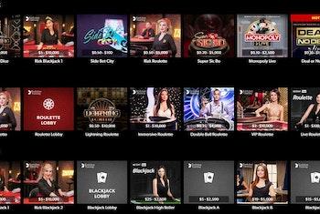 Rizk Club Boasts Exclusive Live Casino Tables