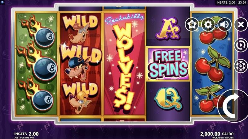 Rockabilly Wolves Screenshot