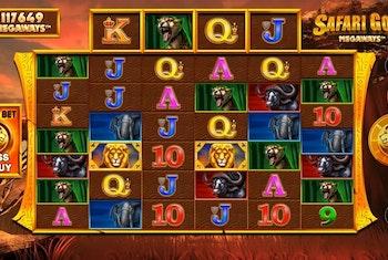 Safari Gold Megaways Slot from Blueprint Gaming