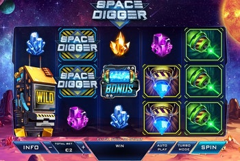 Space Digger Slot from Playtech