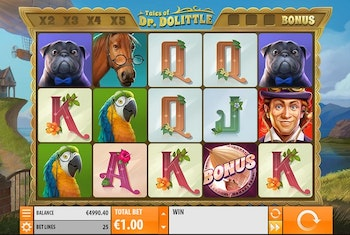 Tales of Dr. Dolittle from Quickspin