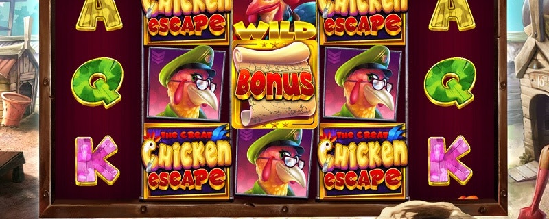The Great Chicken Escape from Pragmatic Play