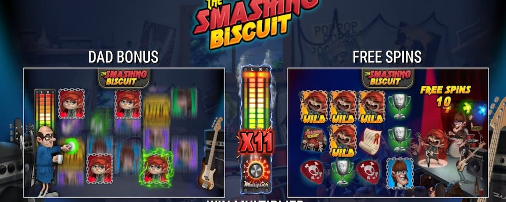 The Smashing Biscuit from Microgaming