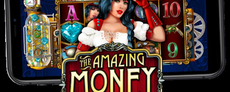Enjoy Steampunk Riches with The Amazing Money Machine!