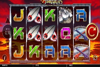 ThunderCats Reels of Thundera from Blueprint Gaming