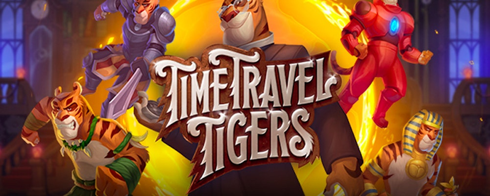 Join Dr Tigerstein on his journey in Time Travel Tigers