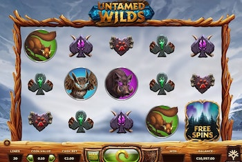 Untamed Wilds from Yggdrasil Gaming