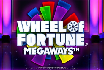 Up to 1 Million Ways to Win with Wheel of Fortune Megaways!