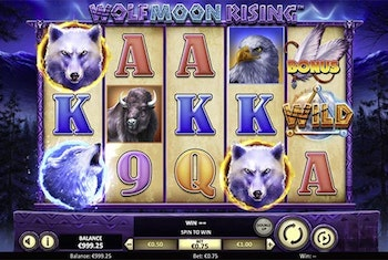 Wolf Moon Rising Slot from Betsoft Gaming