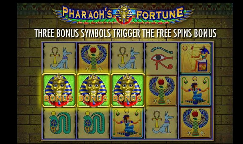 Try Pharaoh's Fortune by IGT