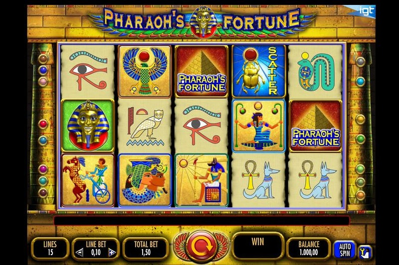 Play Pharaoh's Fortune by IGT