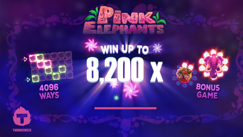 Play Pink Elephants from Thunderkick