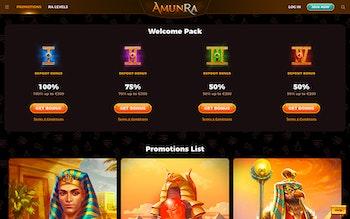 AmunRa Casino Bonus