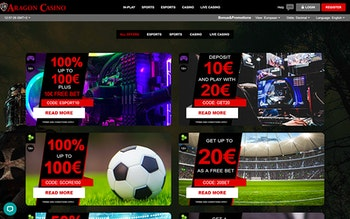 Aragon Casino Bonus