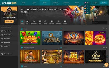 arcanebet Casino Spel