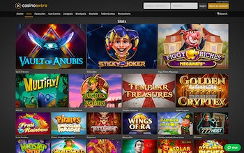 CasinoExtra.com Spel
