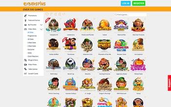 CyberSpins Casino Spel