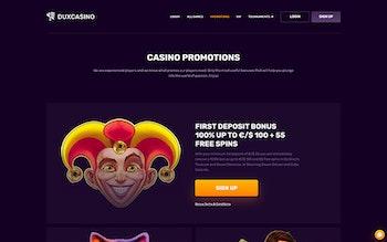 Dux Casino Bonus